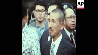 Download SYND 13-3-74 SOLDIER RETURNS TO TOKYO AFTER 30 YEARS OF HIDING IN PHILIPPINES Video