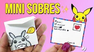 Download 🐻 ¡¡Sorprende a tus AMIGOS con MINI TARJETAS y SOBRECITOS Kawaii!! 🐻 IDEAS para REGALAR Video
