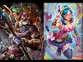 Download | SMITE | AH PUCH dios de la descomposicion + skin BASTET kawaii pop + balanceo + skins Video