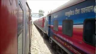 Download Rajdhani Overtakes Rajdhani: Very Rare and Bizarre Action on Indian Railways Video
