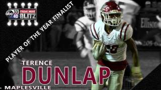 Download Terence Dunlap, Maplesville: Friday Night Blitz Player of the Year Finalist Video
