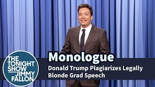 Download Donald Trump Plagiarizes Legally Blonde Grad Speech - Monologue Video