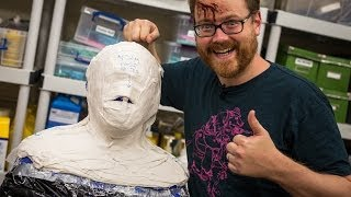 Download Making a Lifecast of Norm for The Zoidberg Project Video