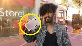 Download Vagabundo compra el IPHONE MÁS COSTOSO! Reacciones de vendedores Video