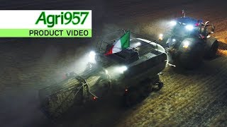 Download EXTREME STRESS TEST BALING 24 HOURS in ITALY | FENDT 1290 N XD baler & 828 Vario | HARD CONDITIONS Video