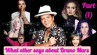 Download Bruno Mars- What others say about Bruno Mars !! Part (1) Video