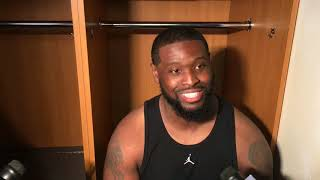 Download Terron Armstead was glad to be back on the field Video