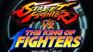 Download Street Fighter Vs The King of Fighters (Openbor) by Kratus - PT1 Video