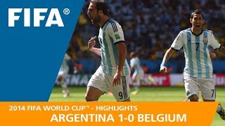 Download ARGENTINA v BELGIUM (1:0) - 2014 FIFA World Cup™ Video