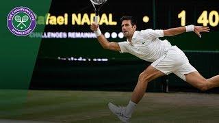 Download Novak Djokovic vs Rafael Nadal SF Highlights | Wimbledon 2018 Video