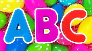 Download ABC Surprise Eggs #2 | Learn Colors for Children, Teach Preschool Kids the Alphabet by Busy Beavers Video