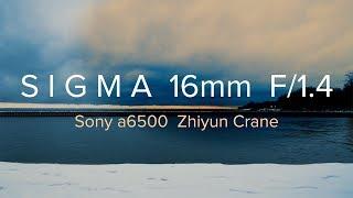 Download SIGMA 16mm F/1.4 + Sony a6500   Zhiyun crane   Cinematic VLOG Video