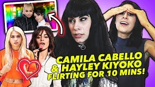 Download CAMILA CABELLO AND HAYLEY KIYOKO FLIRTING FOR 10 MINUTES Video