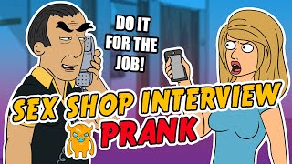 Download Steamy Sex Shop Interview Prank - Ownage Pranks Video