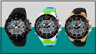 Download Extreme Test !! SKMEI 1016 Original Sport Watch Analog Led Digital Waterproof Unboxing Review Video