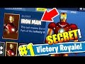 Download How to get the IRON MAN skin in Fortnite: Battle Royale *NEW* Easter egg Video