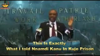 Download This Is Exactly What I told Nnamdi Kanu In Kuje Prison. Video