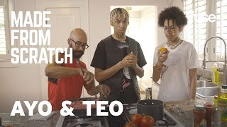 Download Ayo and Teo Get An Unexpected Visit From Their Dad | Made From Scratch Video