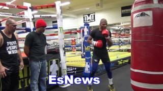 Download Thomas Dulorme Killing The Heavy Bag - EsNews Boxing Video
