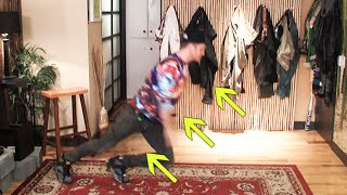 Download MOST AMAZING DANCE MOVE - ″THE RISE UP″ DANCE TUTORIAL WITH ROBERT HOFFMAN Video