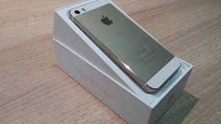 Download فتح علبة ونظرة سريعة للايفون 5 اس الذهبي - iPhone 5S GOLD unboxing Video