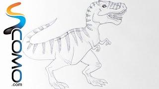 Download Dibujar un dinosaurio (Tyrannosaurus Rex) Video