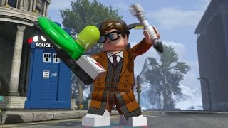 Download LEGO Dimensions - All 13 Doctor's Idle Animations (Doctor Who Level Pack) Video
