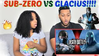 Download Sub-Zero VS Glacius | DEATH BATTLE! REACTION!!!! Video