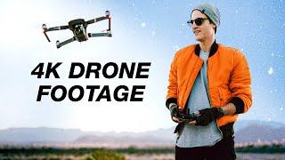 Download Winter Drone Footage in 4K (DJI Mavic Pro) Video