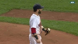 Download Pedroia gets the ball stuck in his glove Video