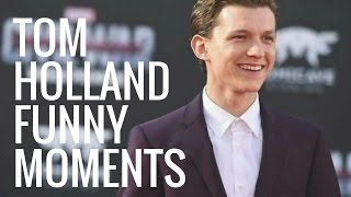 Download Tom Holland Funny Moments | Part 1 Video
