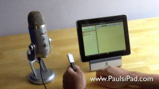Download Yeti Microphone - Recording High Quality Audio On The iPad Video