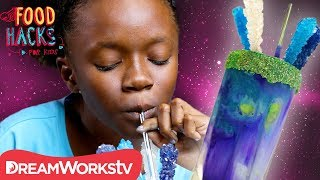 Download Galaxy Voltron Milkshake + More Voltron Hacks! | FOOD HACKS FOR KIDS Video