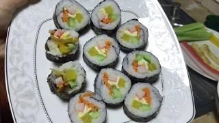 Download How to make KIMBAP   វិធីធ្វើ គីមបាប់ (Korean Food) Video