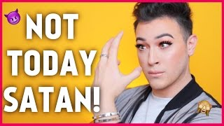 Download FULL FACE USING MY OPPOSITE HAND MAKEUP CHALLENGE | Manny MUA Video