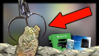 Download Can I WIN $250 CASH at the Claw Machine? Video