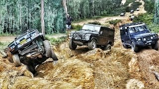 Download Land Rovers Off Road @ Wombat Holes Zig Zag 2017 Video