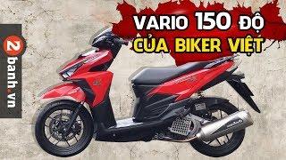 Download Vario 150 độ của biker Việt | 2banh.vn Video