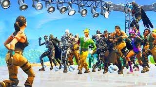 Download when 100 people default dance Video