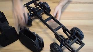 Download 3d printed RC Truck chassis (Kamaz Dakar) Капотный Камаз Мастер Video