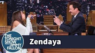 Download Zendaya and Jimmy Get Creative with Instagram Boomerangs Video