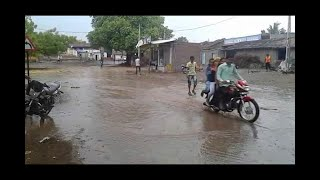 Download Heavy Rain In Amreli District, Rain In Savarkundla And Other City Video