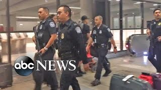 Download LAX Active Shooter False Alarm Causes Chaos Video