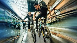Download RIDICULOUS MOUNTAIN BIKE CHALLENGE Video