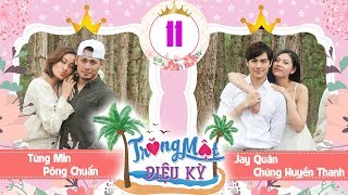Download TRĂNG MẬT DIỆU KỲ #11 FULL Chúng Huyền Thanh viết thư tay cho Jay Quân - Pông Chuẩn khóc vì Tùng Min Video