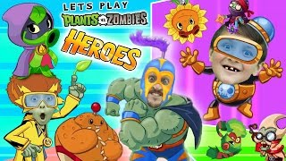 Download PVZ HEROES w/ Mike, Lex & FGTEEV Duddy (NEW! Plants vs. Zombies Mobile Super Hero Card Game) Video