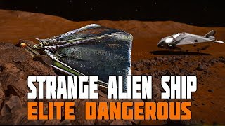 Download Elite Dangerous - Thargoid Barnacle Forest, Wrecked Megaship, Octagonal Alien Fighter Video
