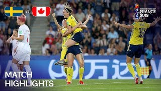 Download Sweden v Canada - FIFA Women's World Cup France 2019™ Video