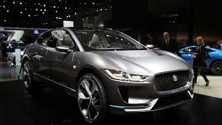 Download 2018 Jaguar I-Pace Electric SUV First Look - 2016 LA Auto Show Video