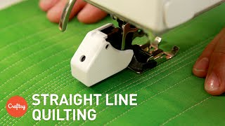 Download Easiest Method for Straight Line Quilting | Machine Quilting Tutorial with Jacquie Gering Video